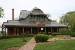 Brookfield Historical Society in Brookfield, Illinois.