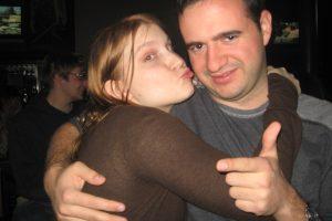 Me and Joe at his birthday party