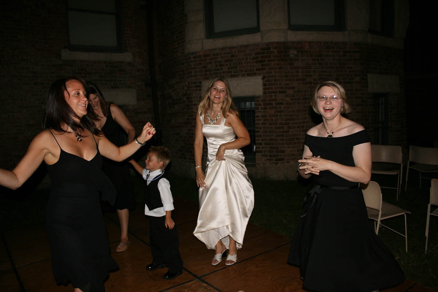 Dancing at Jen and Dale's Glessner House Wedding in Chicago, Illinois.