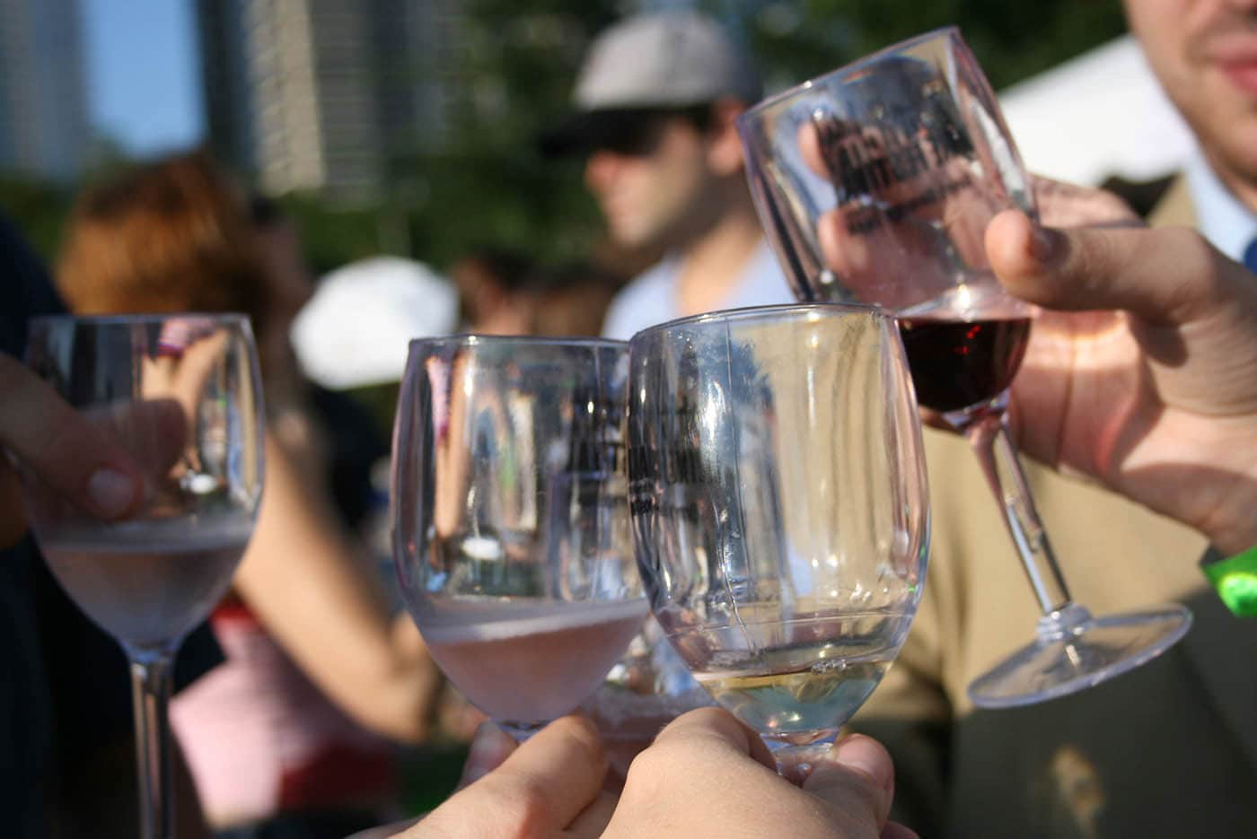 Windy City Wine Festival in Chicago, Illinois.