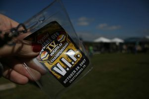 VIP pass to the Krystal Square Off. Krystal Square Off IV hamburger eating contest in Chattanooga, Tennessee.
