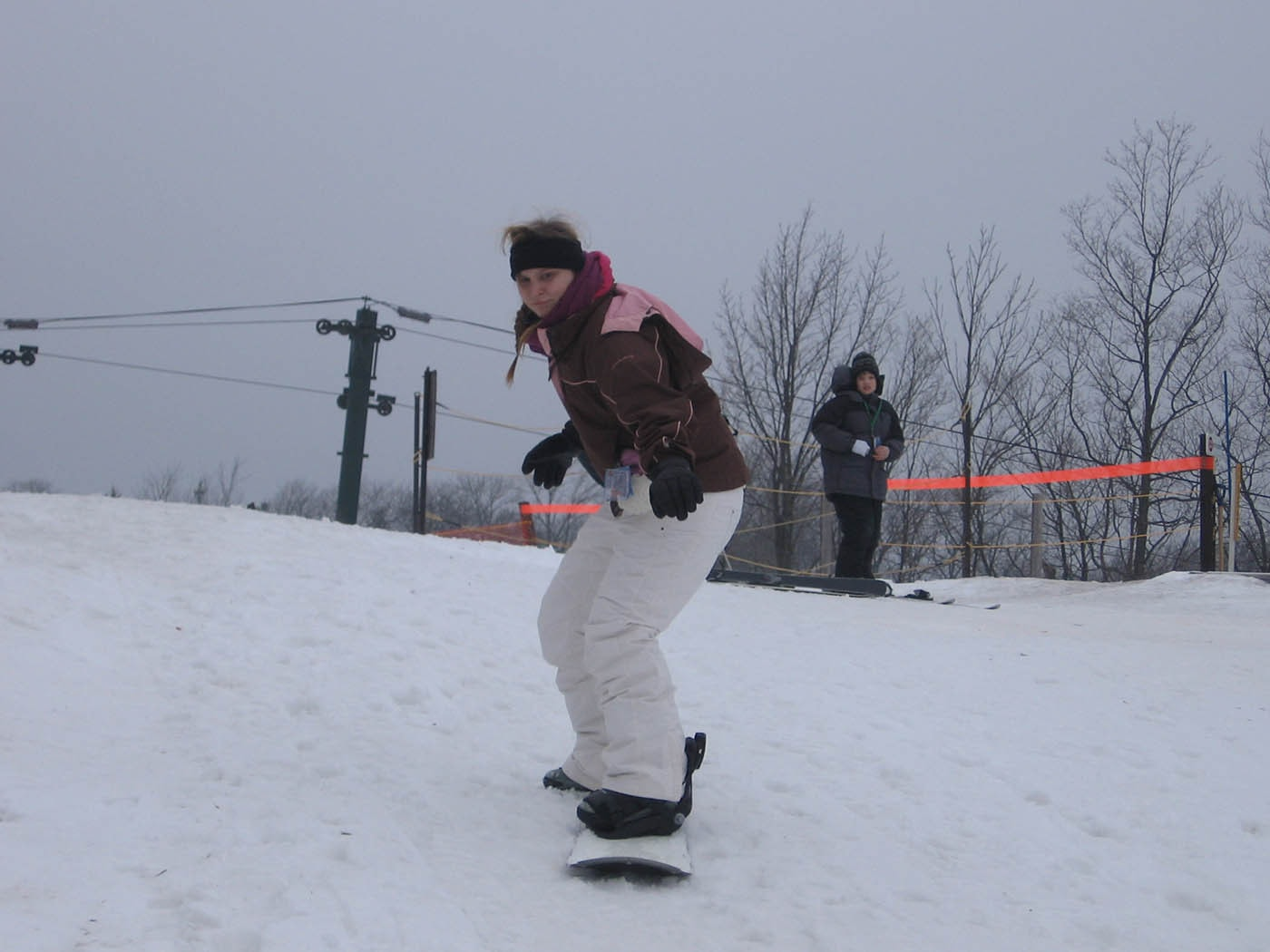learning to snowboard at indianhead mountain • choosing figs