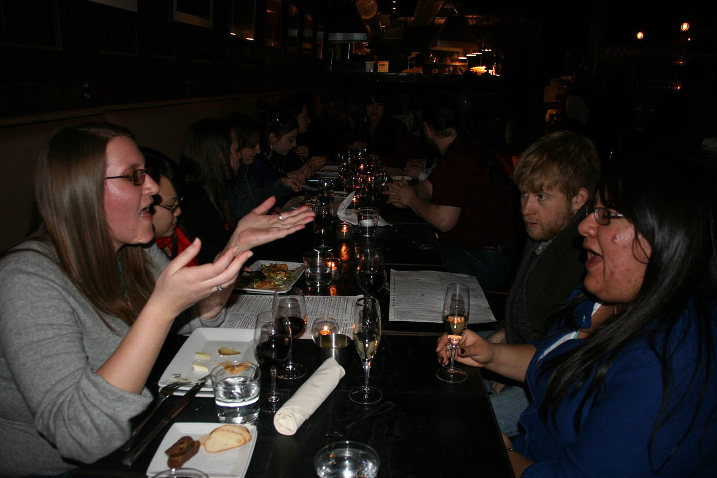 My 27th birthday party at Volo wine bar in Chicago, Illinois.