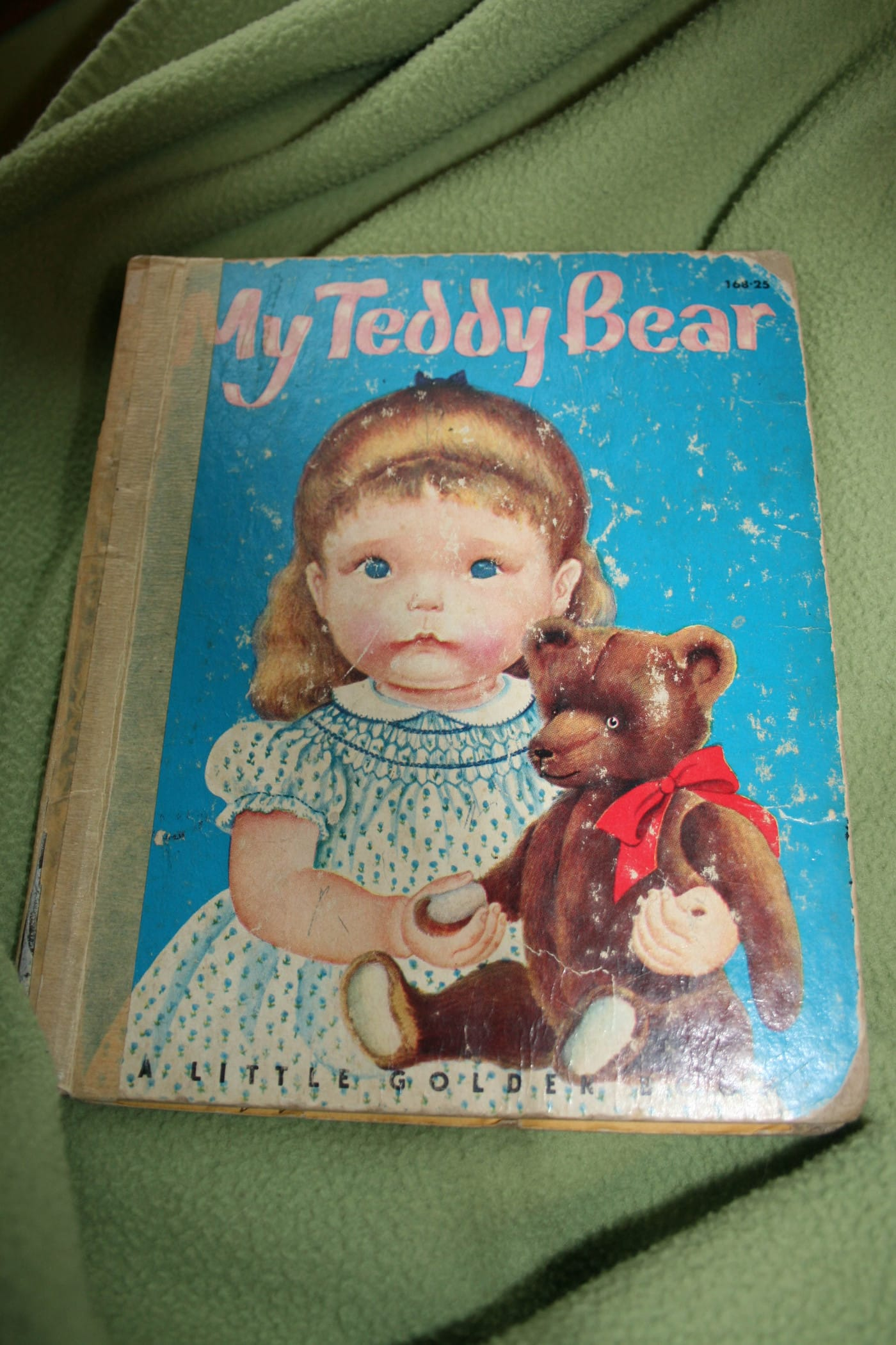 My Teddy Bear Book by Patsy Scarry (Author) and Eloise Wilkin (Illustrator). Ouch! Naughty Lion, you mustn't bite!