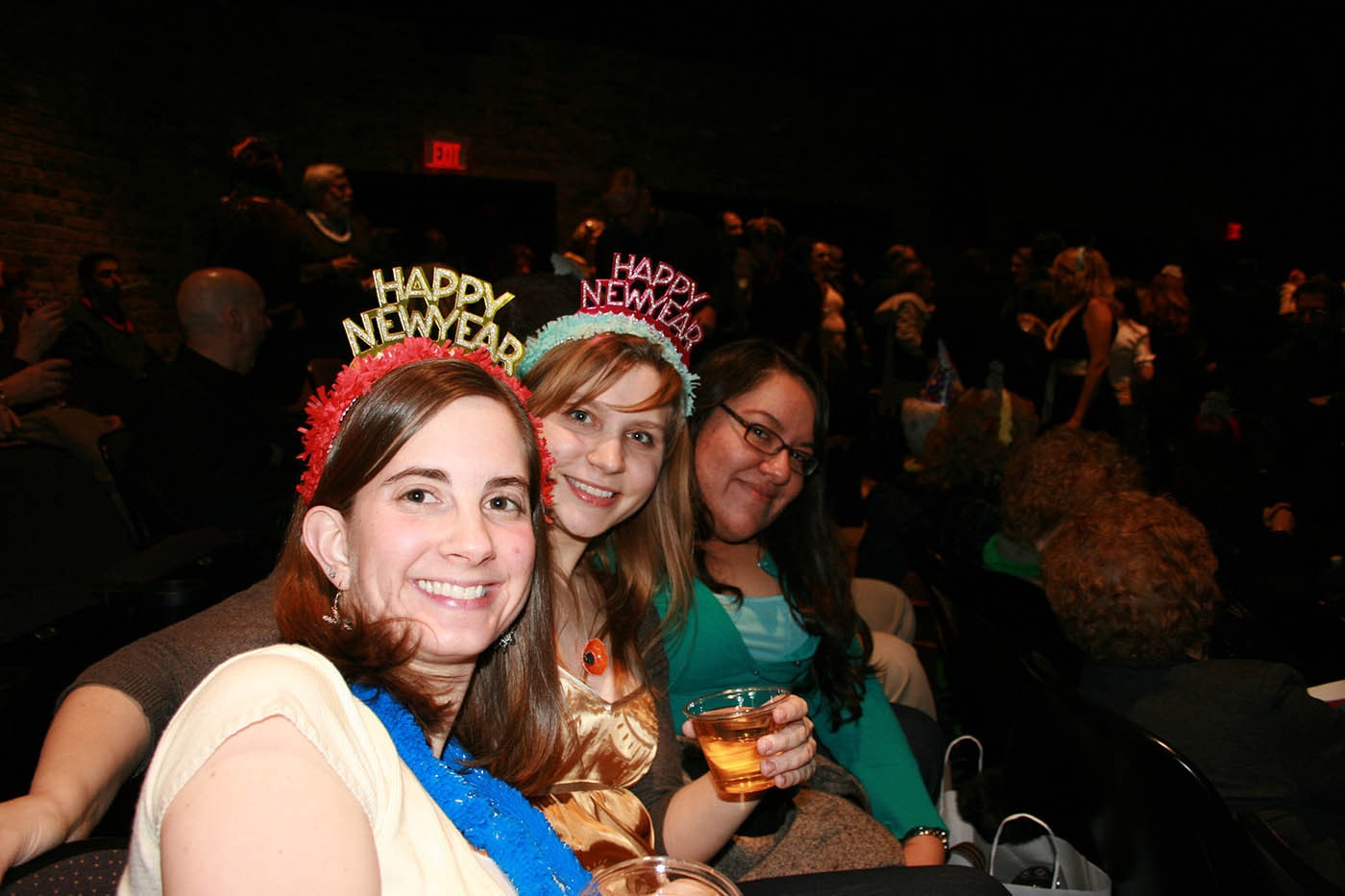 New Years Eve at Second City Dysfunctional Holiday Review.