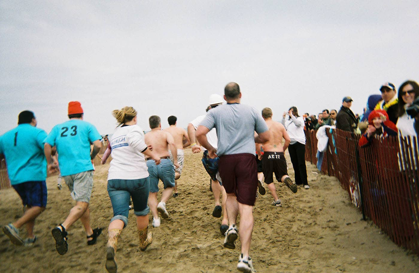 Chicago Polar Plunge. Swimming in Lake Michigan in March. Go Jump in the Lake!