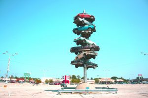 The Spindle in Berwyn, Illinois is for sale.
