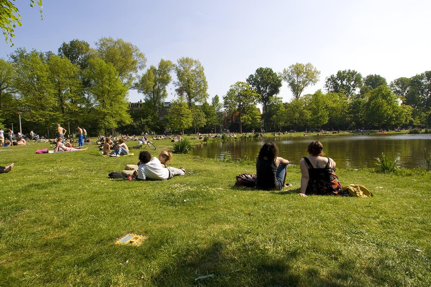 Vondelpark in Amsterdam.