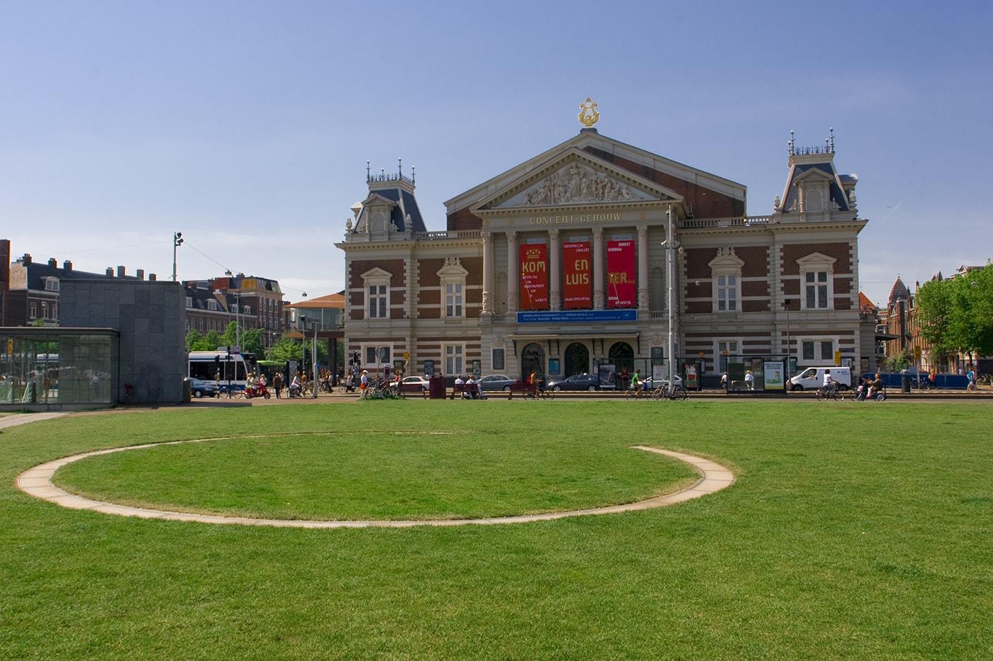 Concertgebau in Amsterdam, The Netherlands.