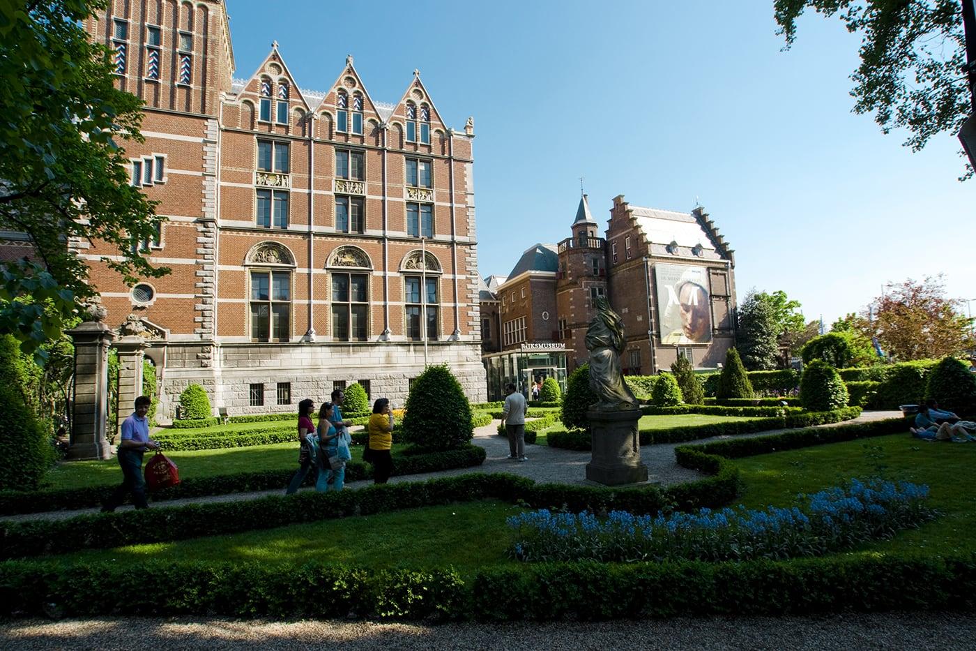 Rijksmuseum in Amsterdam.