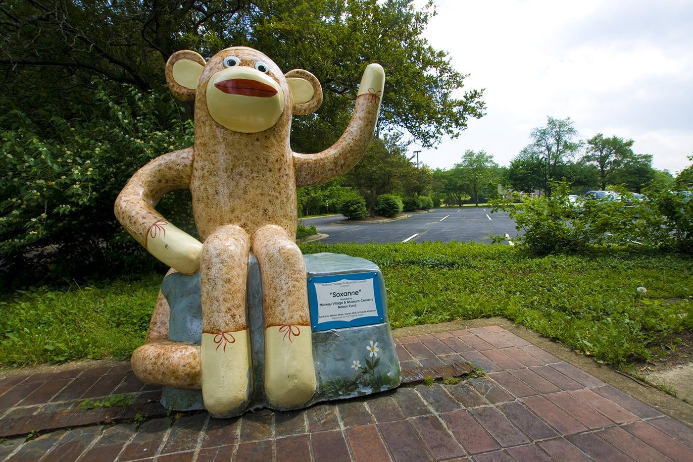 Sock Monkey museum in Rockford, Illinois.Sock Monkey museum in Rockford, Illinois.
