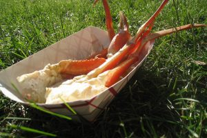 Taste of Chicago Dinner: Crab Legs (Grazie! Ristorante).