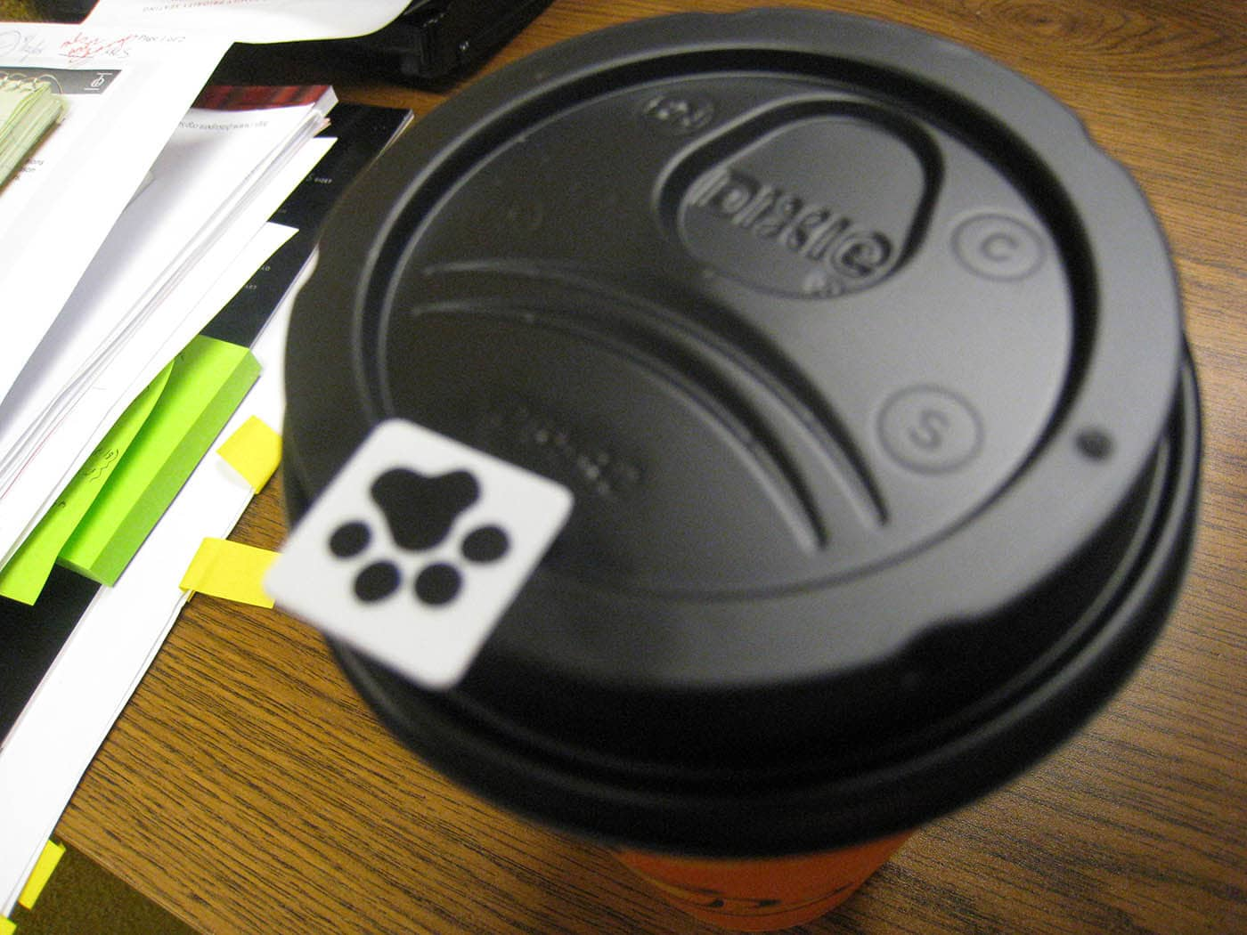 Coffee Sticker.