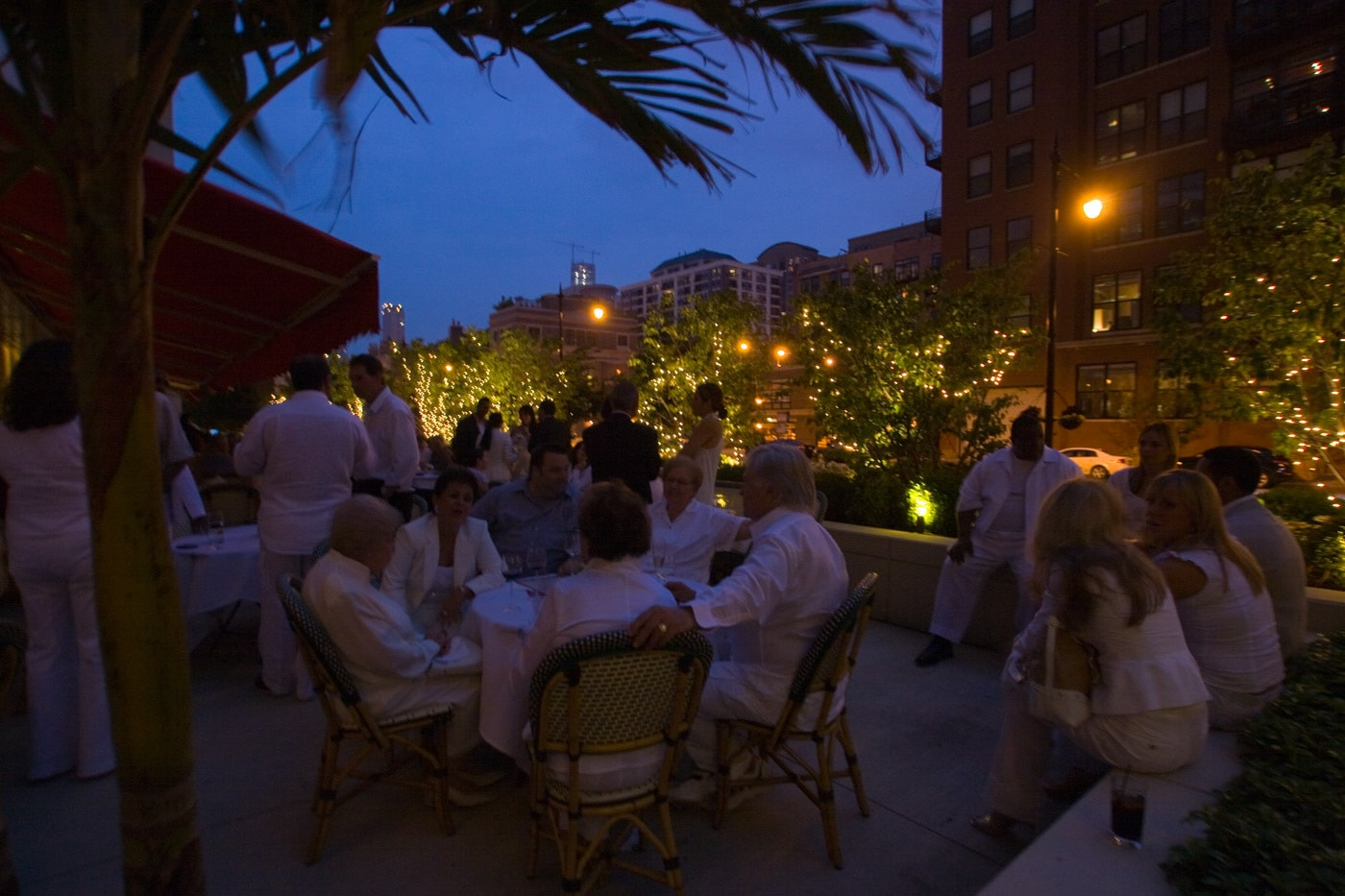 Real Estate White Party
