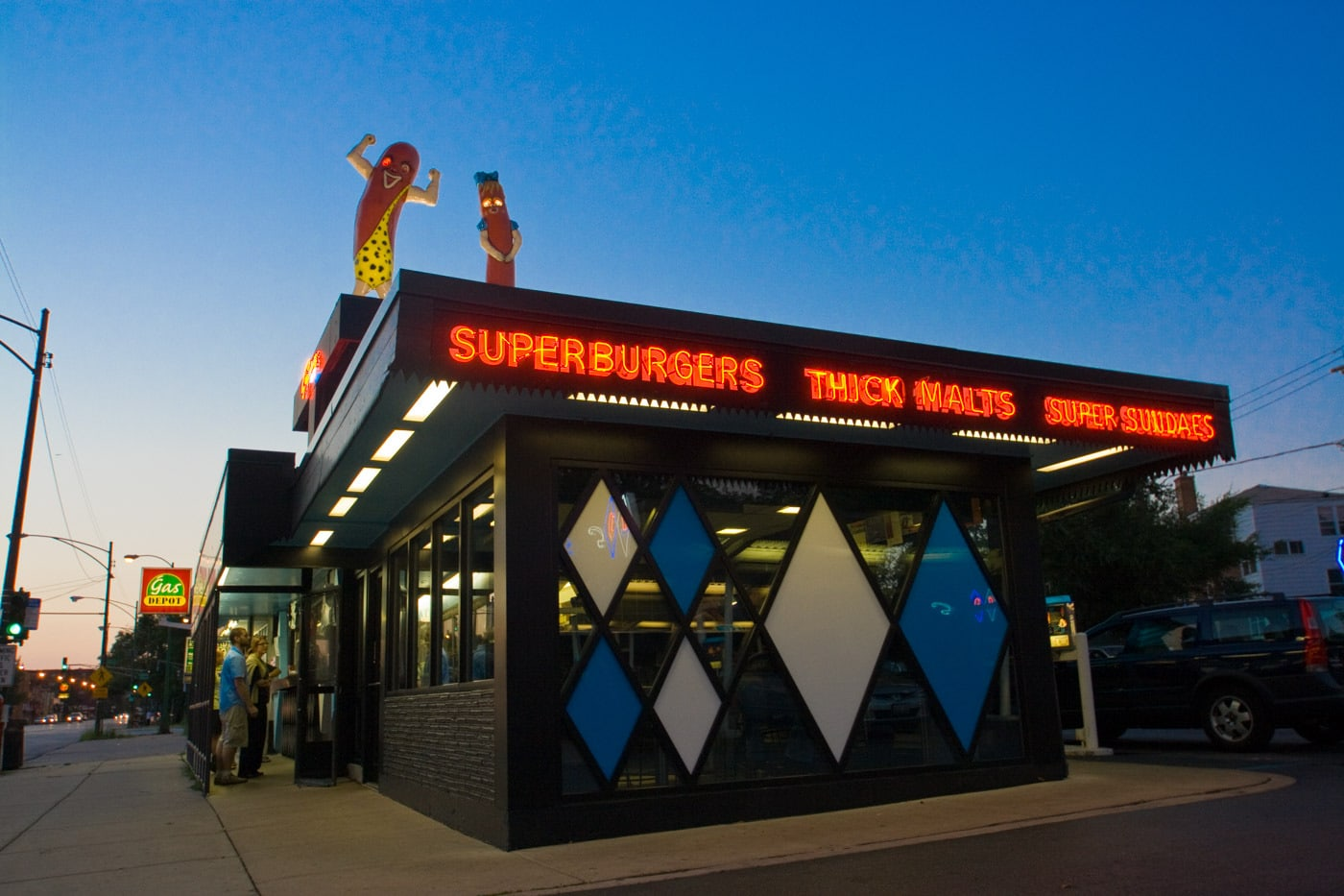 Superdawg in Chicago, Illinois.
