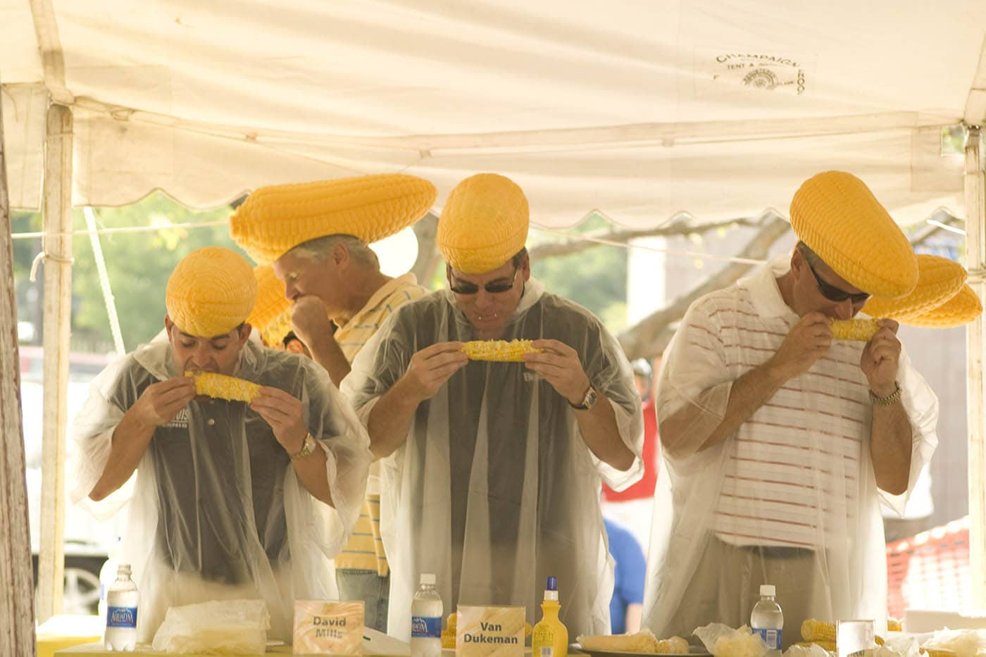 Sweetcorn eating contest at the The Urbana Sweetcorn Festival | Urbana Sweet Corn Festival