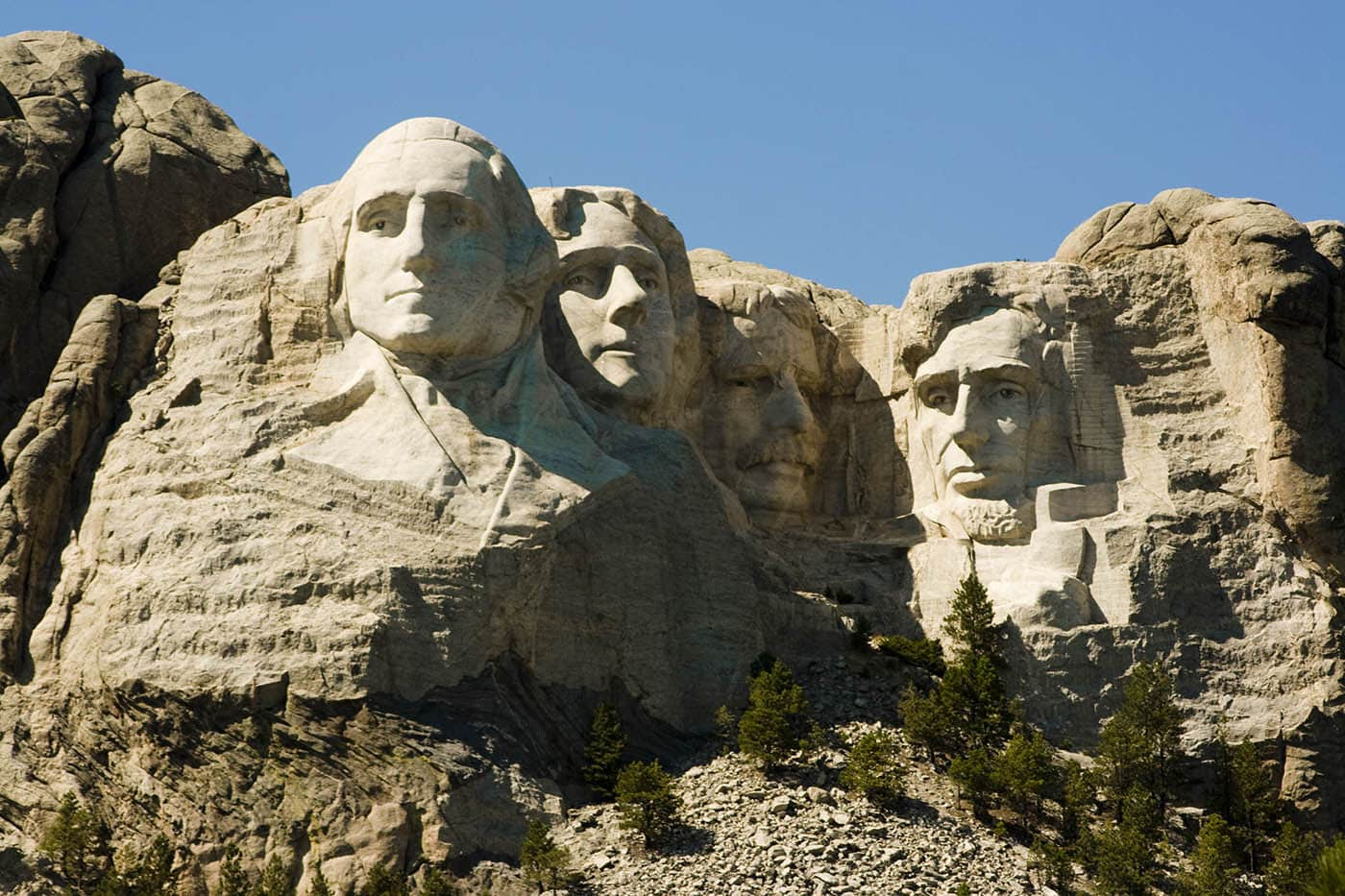 Mount Rushmore in Keystone, South Dakota. Labor Day Chicago to Mount Rushmore Road Trip.