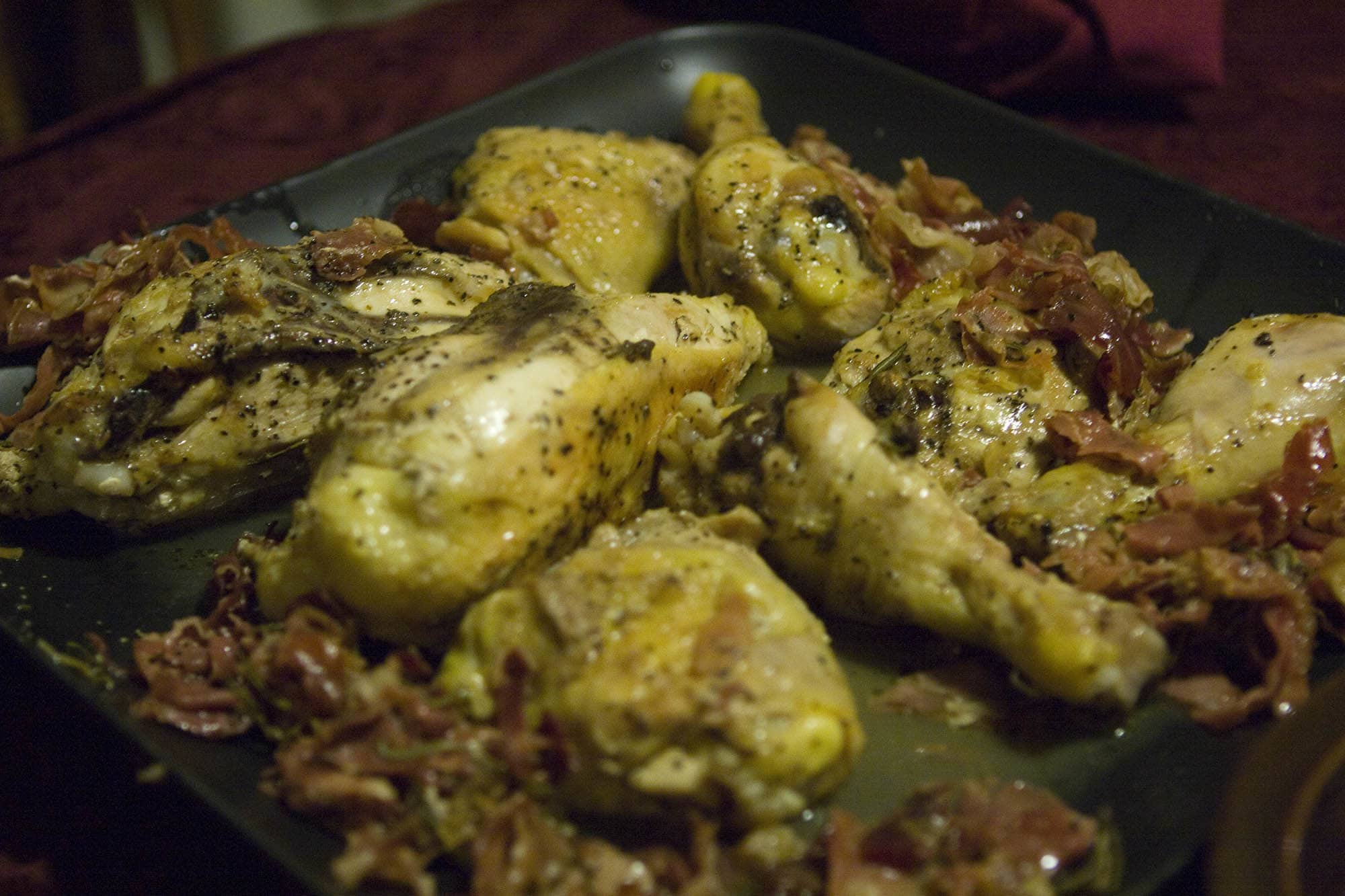 Christmas Dinner - Chicken