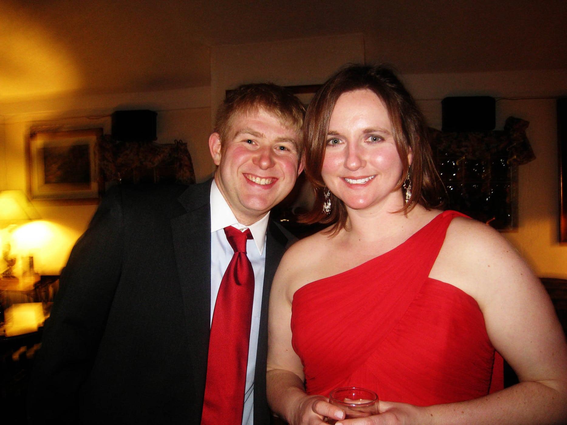 Josh and Jennifer's Wedding Reception at Irish Times in Brookfield, Illinois