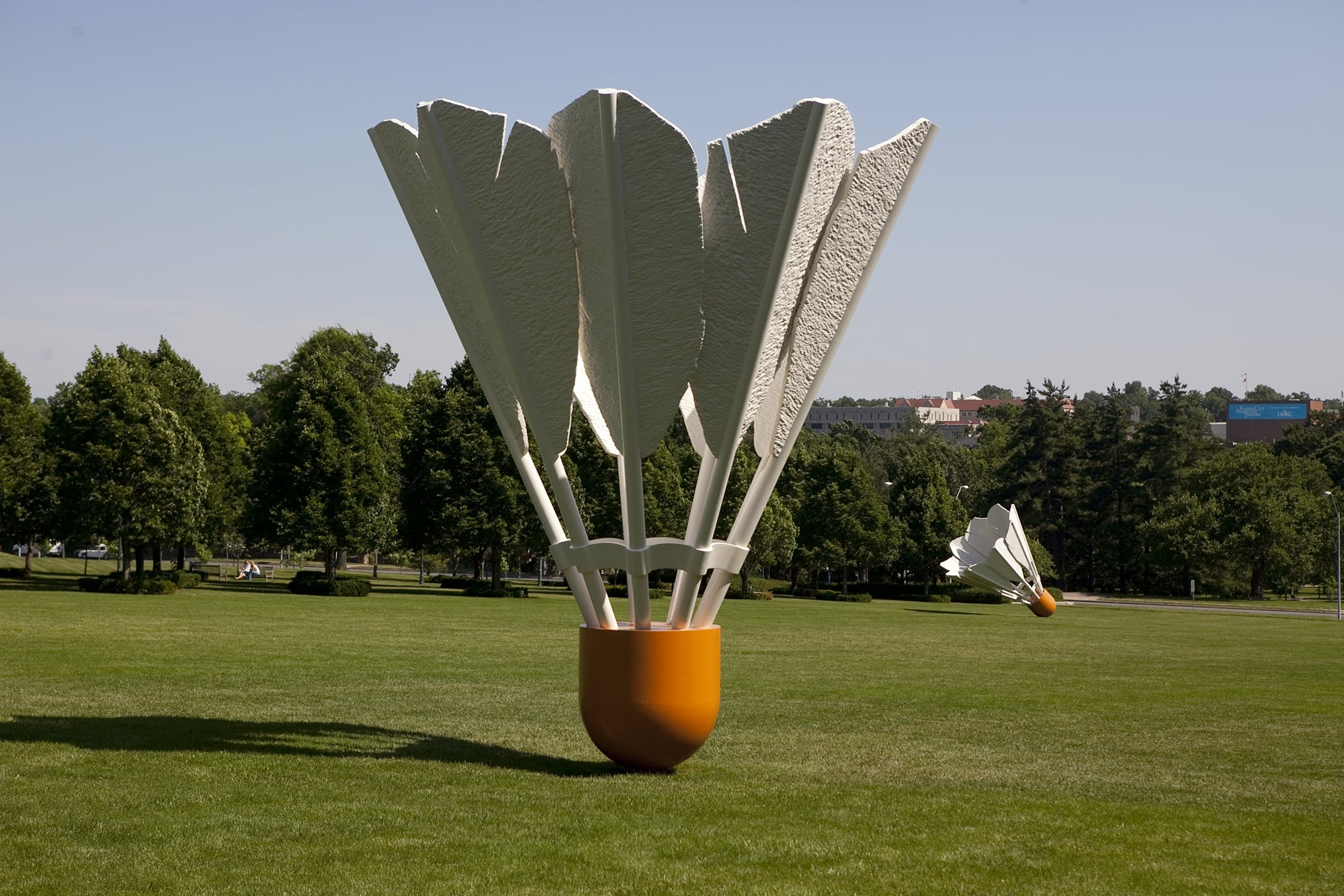 The World's Largest Shuttlecocks on a Missouri Road Trip