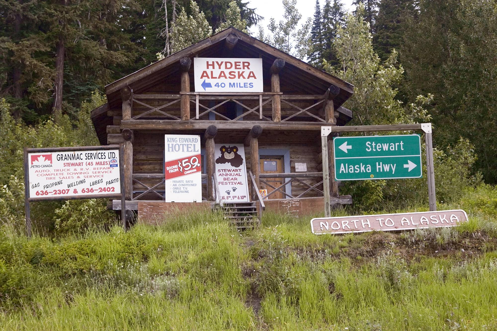 Hyder, Alaska Road Trip