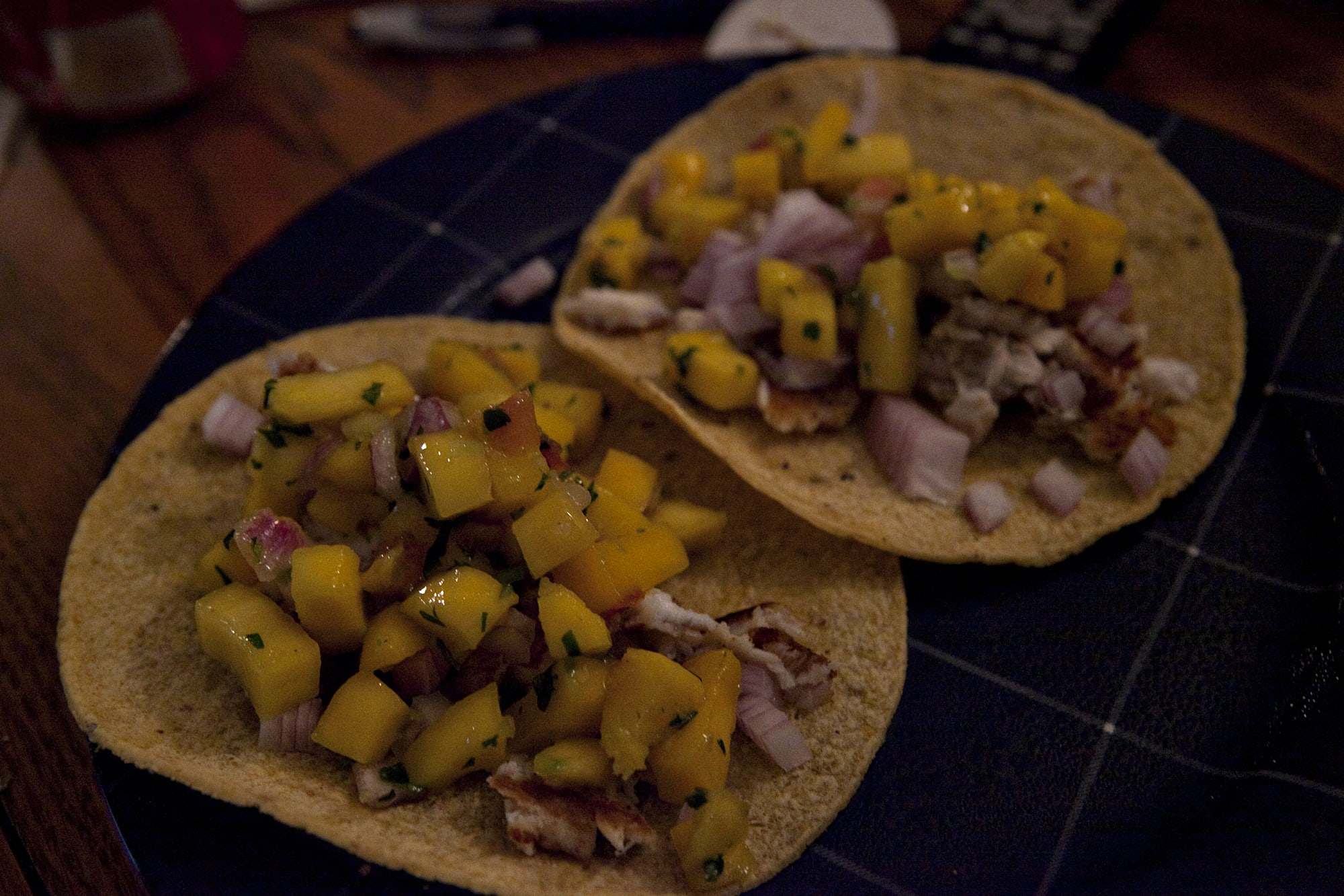 Tilapia Mango Tacos Recipe