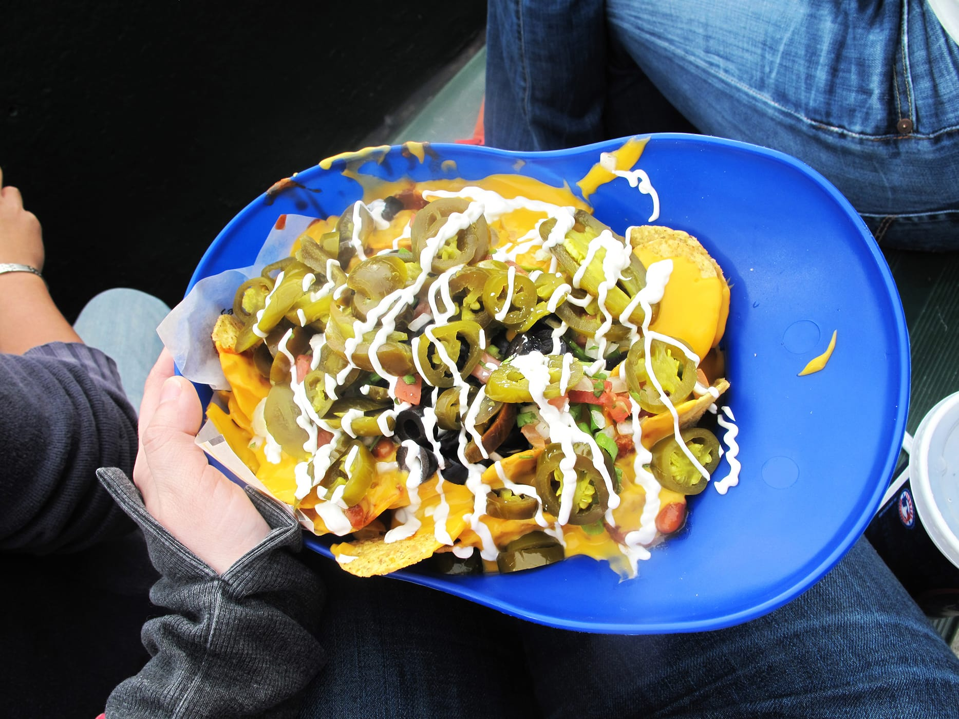 Big Slugger Nachos at Wrigley Field - Cubs Nacho Helmet