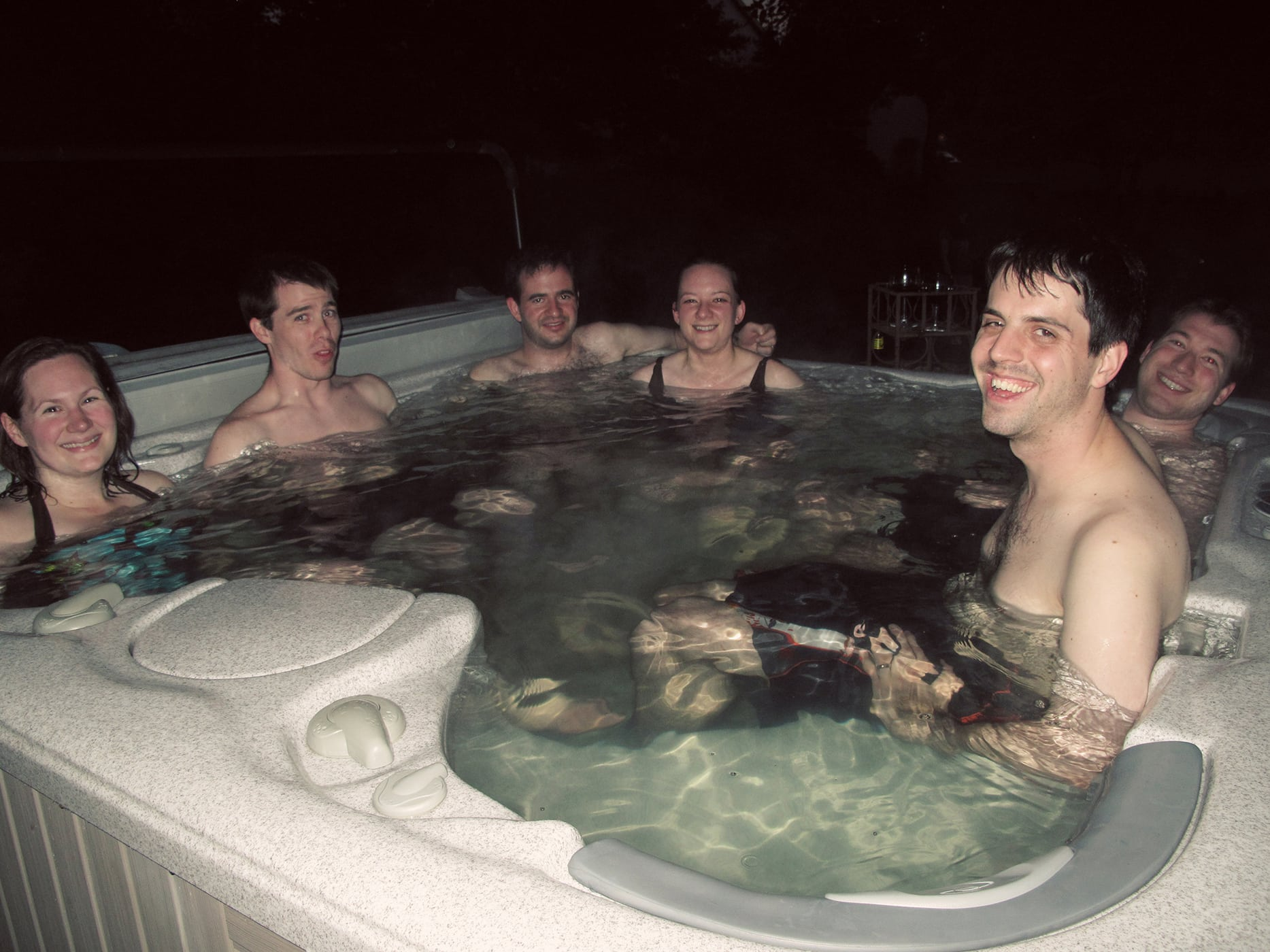 Joe's Hot Tub Birthday Party