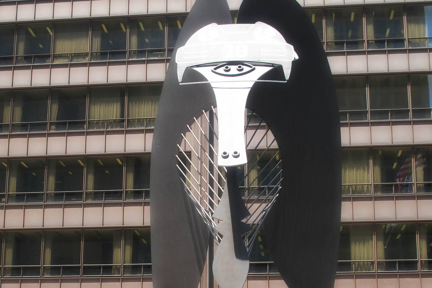 Blackhawks Picasso in Chicago