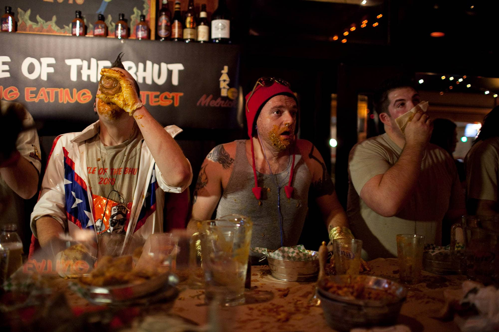 Battle of the Bhut XXX Wing Eating Contest