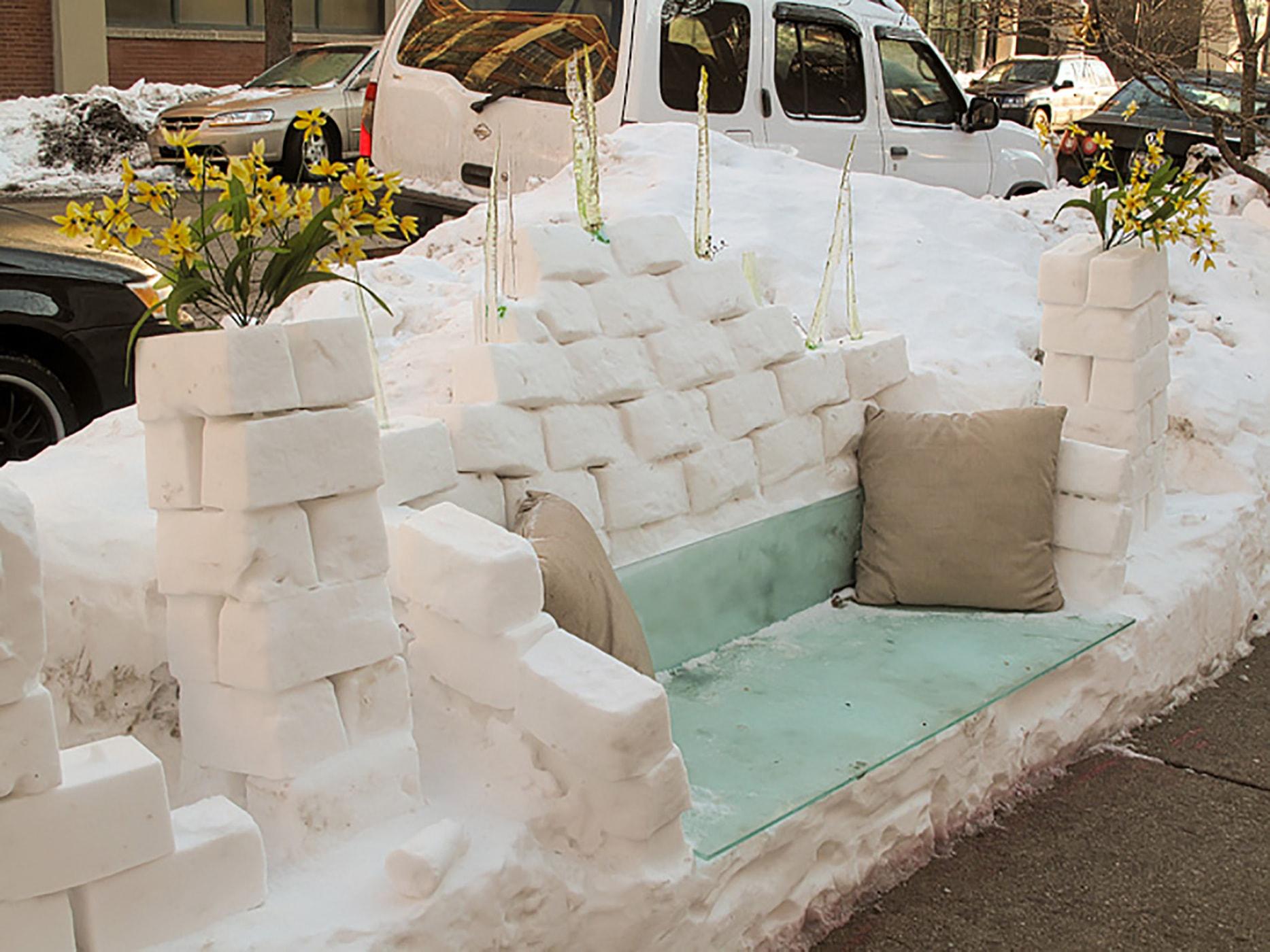 Snofa - Snow Sofa