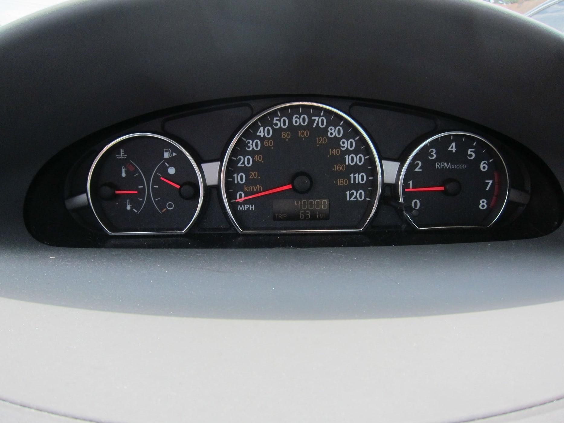 Reaching 40,000 miles on my car.