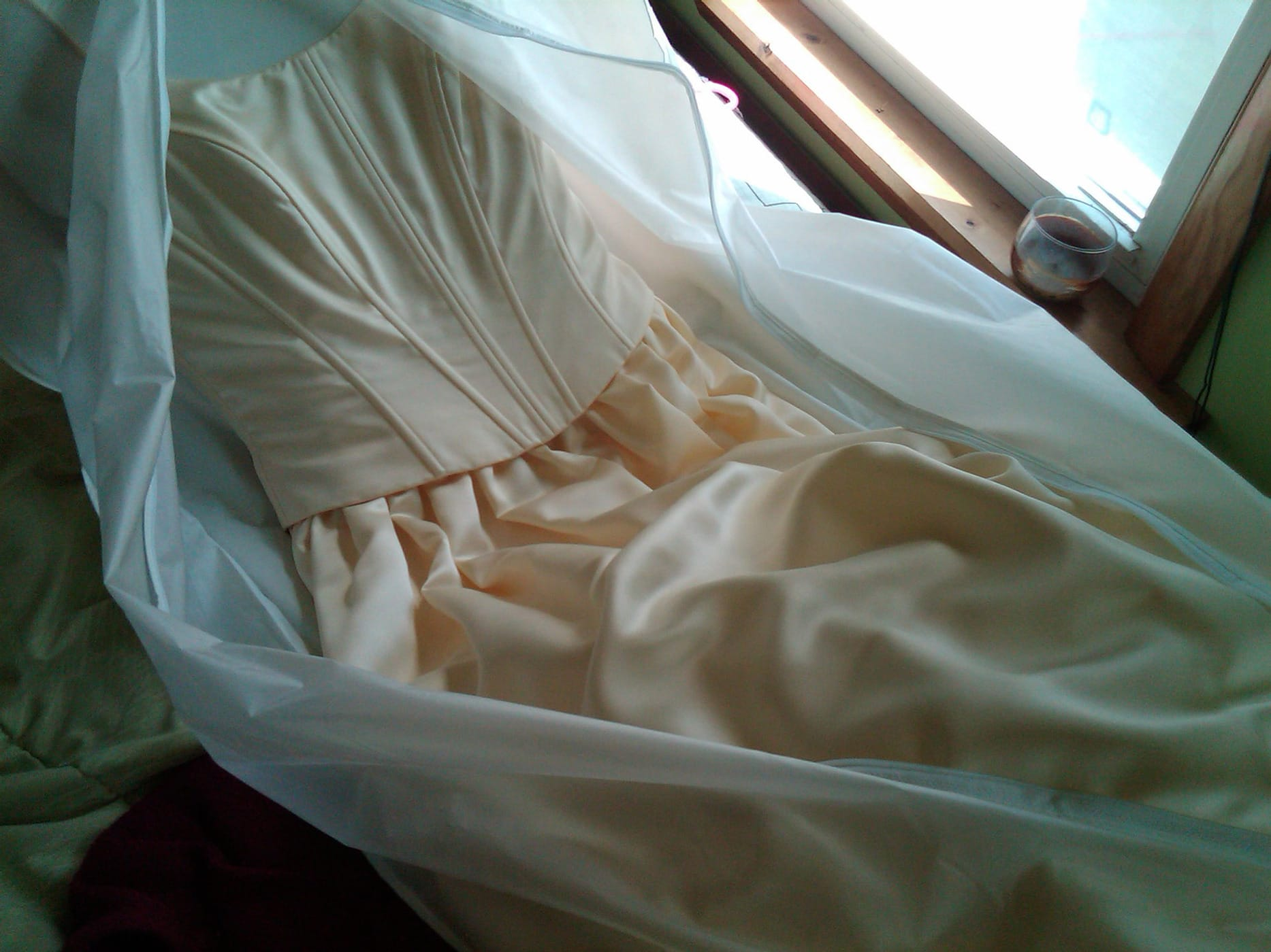 Cleaning the Attic - Throwing out my Prom Dress