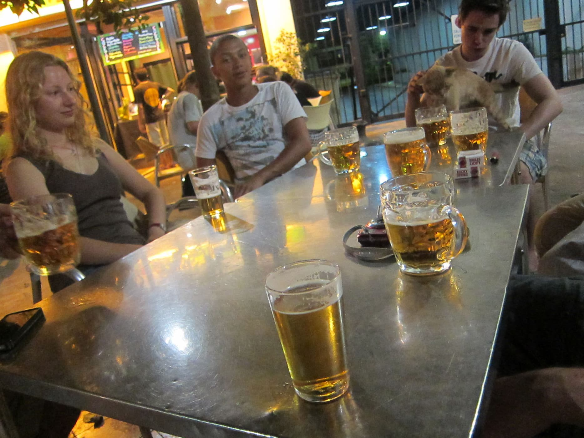 Beers in Sevilla, Spain