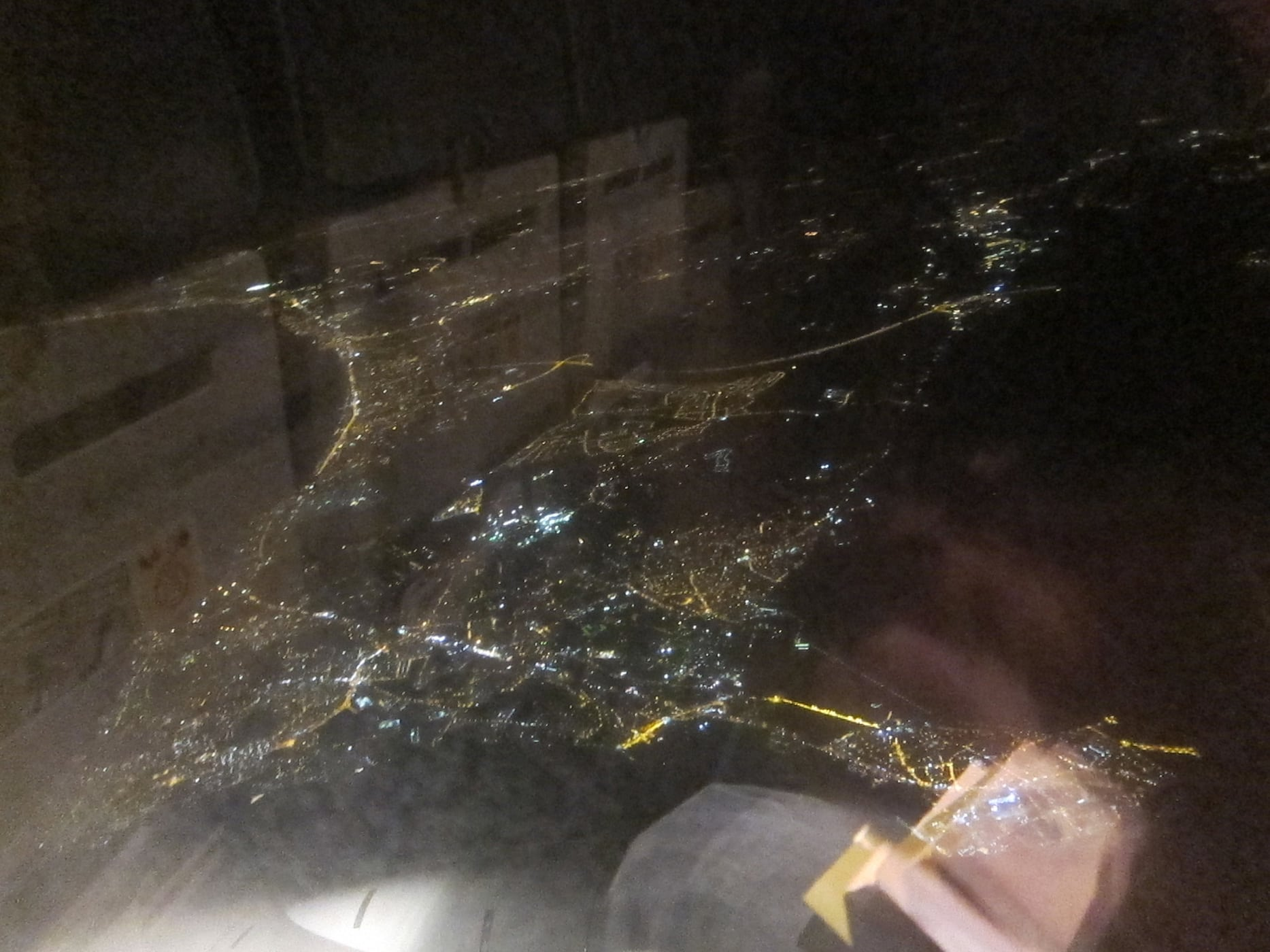 View from my Flight to Istanbul
