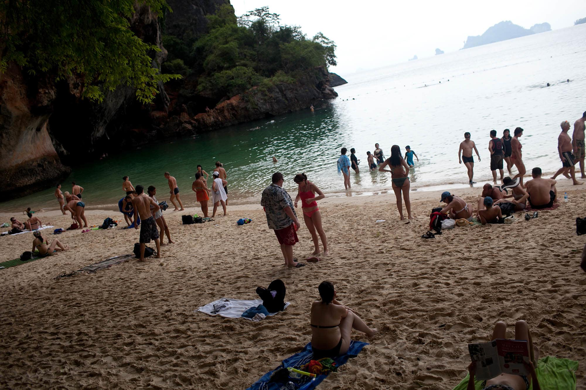 Railay Beach in Krabi, Thailand.