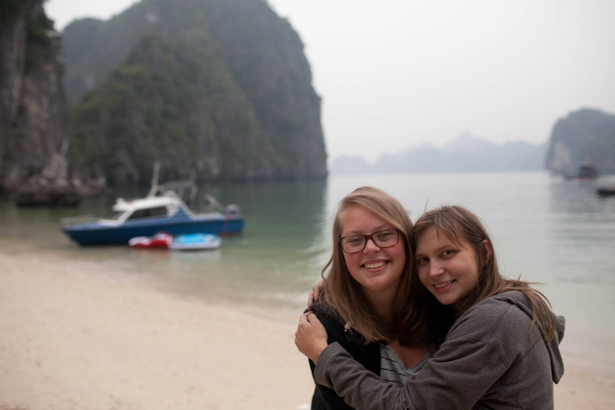 Celebrating New Years on Halong Bay, Vietnam, with Hanoi Backpackers