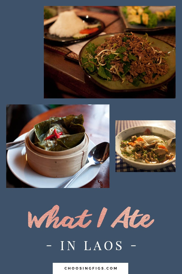 What I ate in Laos.