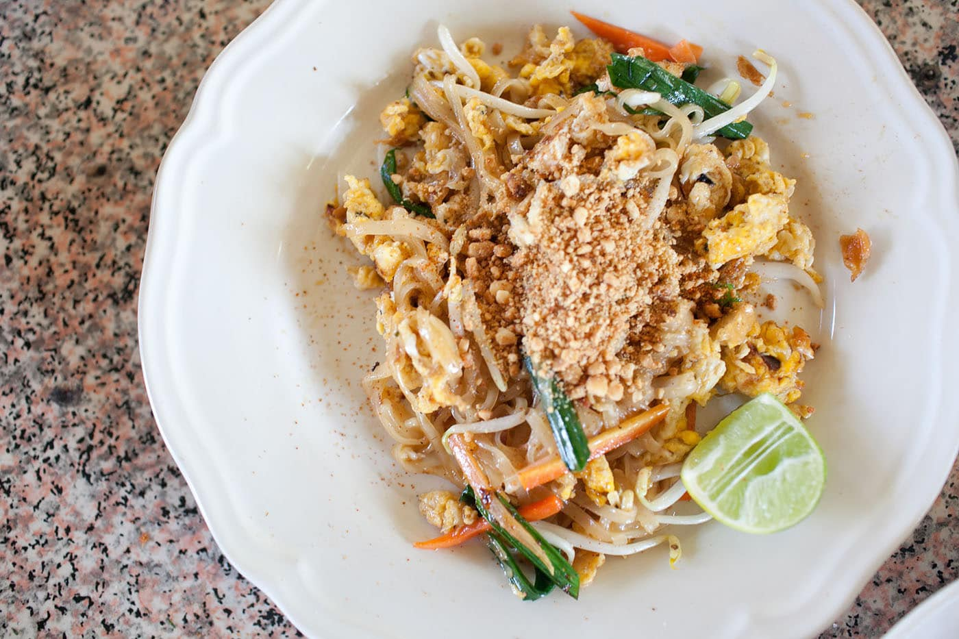 Chiang Mai Pad Thai Recipe with tamarind, rice noodles, and tofu.