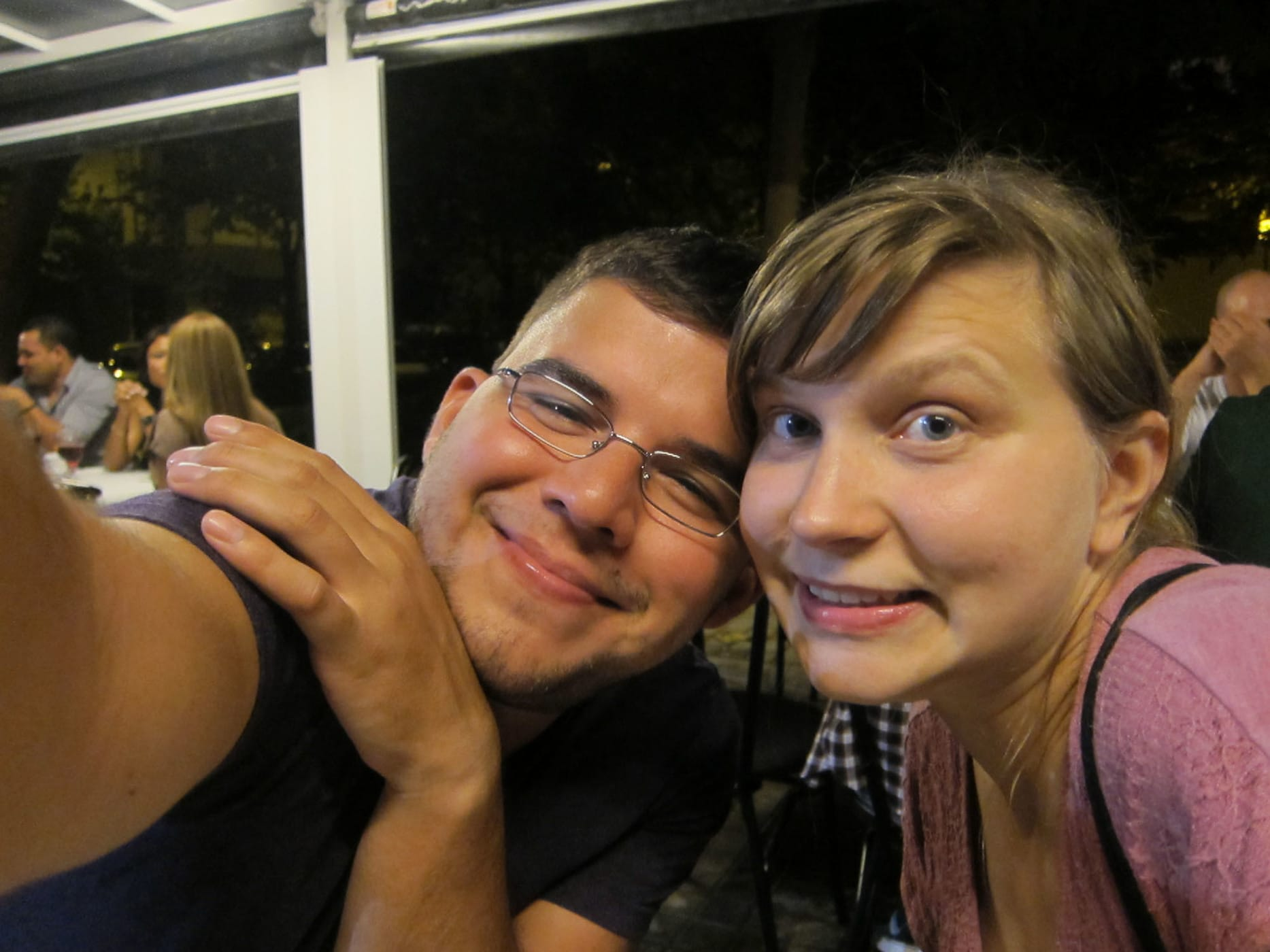 Me and Jaime in Valencia, Spain