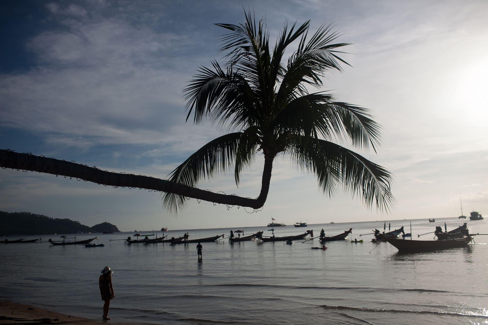 Beach in Koh Tao, Thailand
