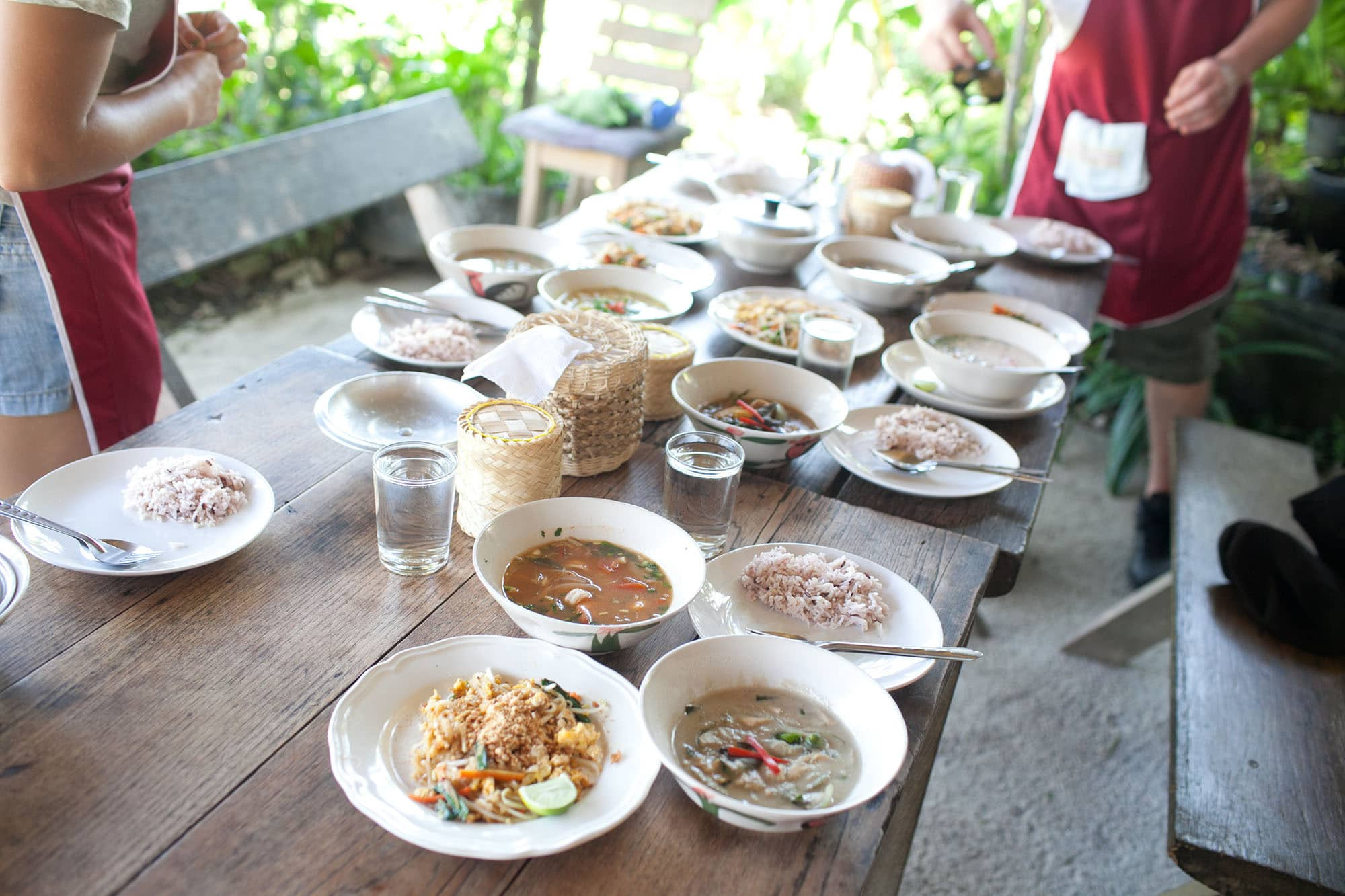 Sammy's Organic Cooking Class in Chiang Mai