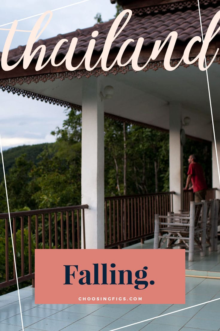 Falling for a guy in Pai, Thailand.