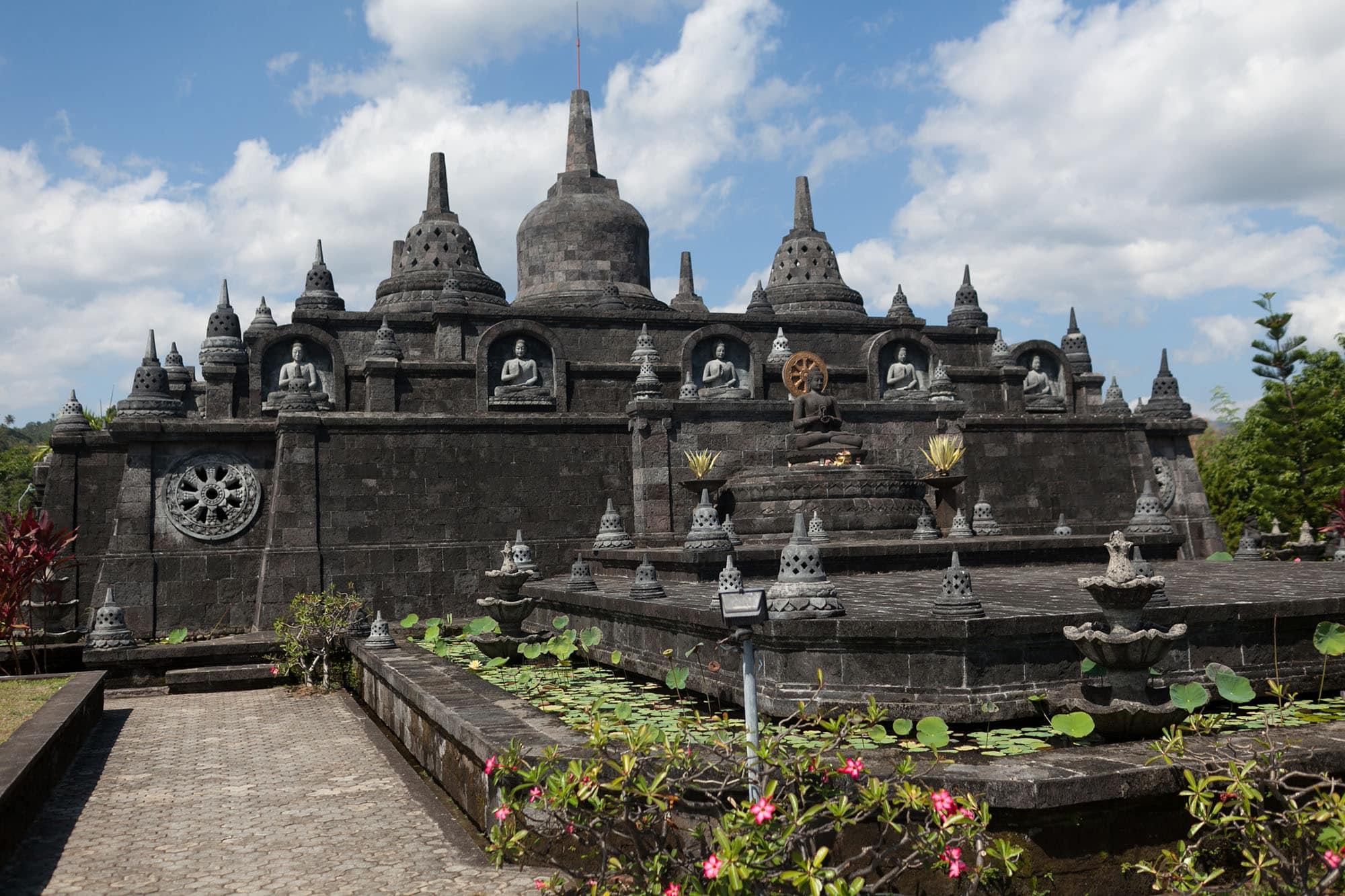 Temple in Lovina, Bali