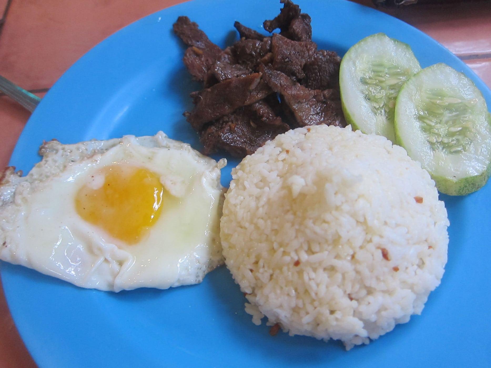 Food in the Philippines: What I ate in The Philippines. Tapa in Boracay, Philippines.