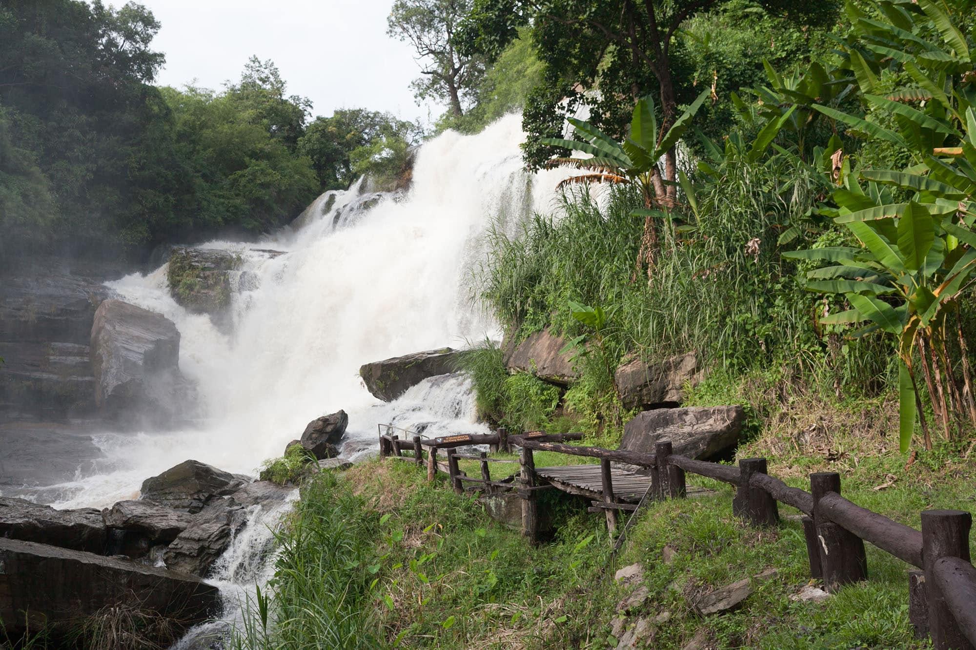 Mae Ya and Mae Klang waterfalls near Chiang Mai, Thailand.