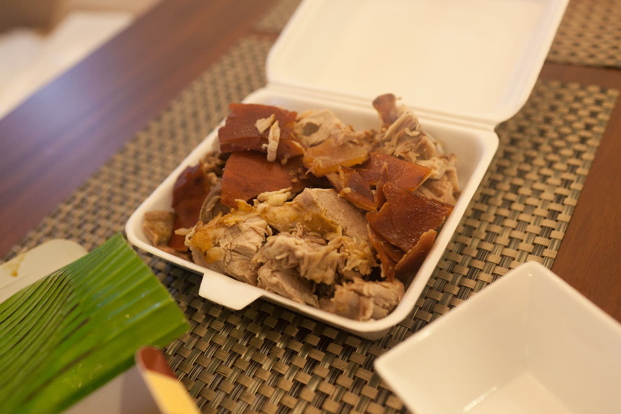 Food in the Philippines: What I ate in The Philippines. Lechon Pork in Manila, Philippines.