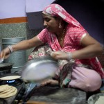 Sambhali Trust, Setrawa - In the Kitchen with Pushpa