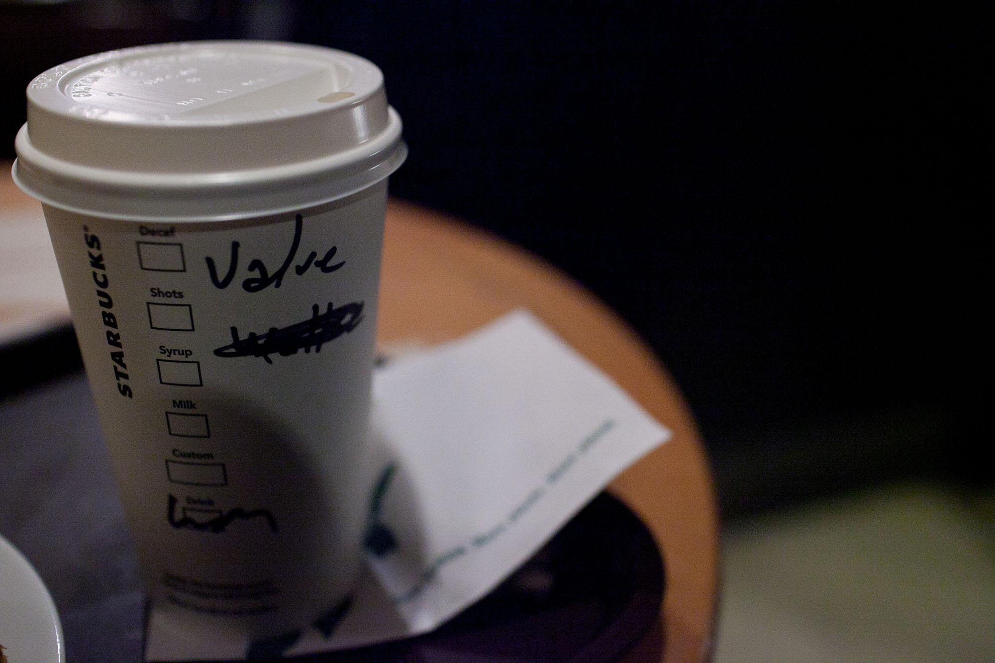 Starbucks in Istanbul, Turkey