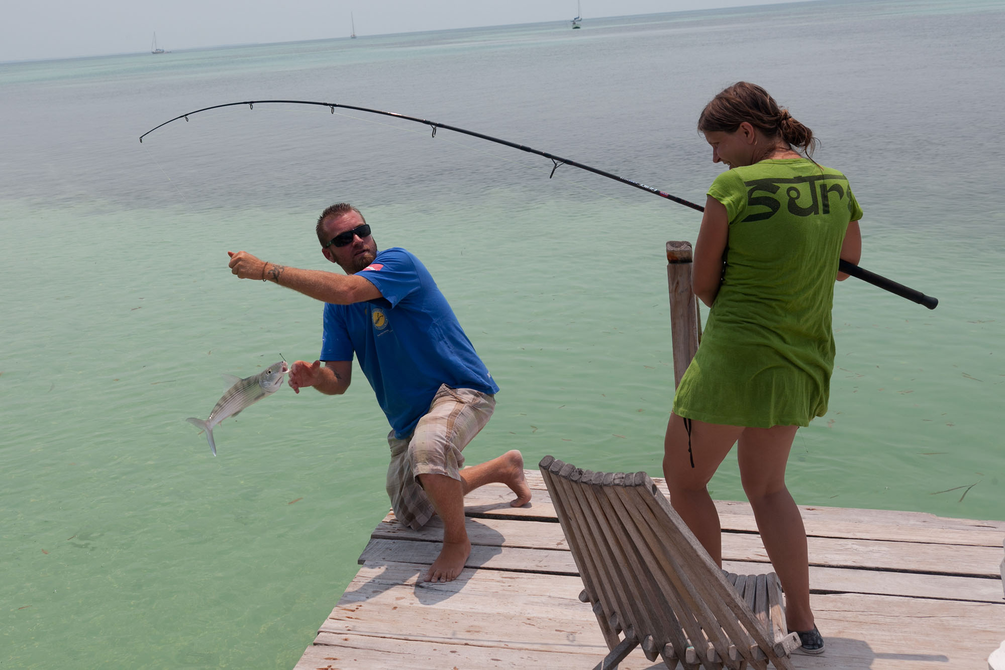 Fishing Trip in Caye Caulker, Belize